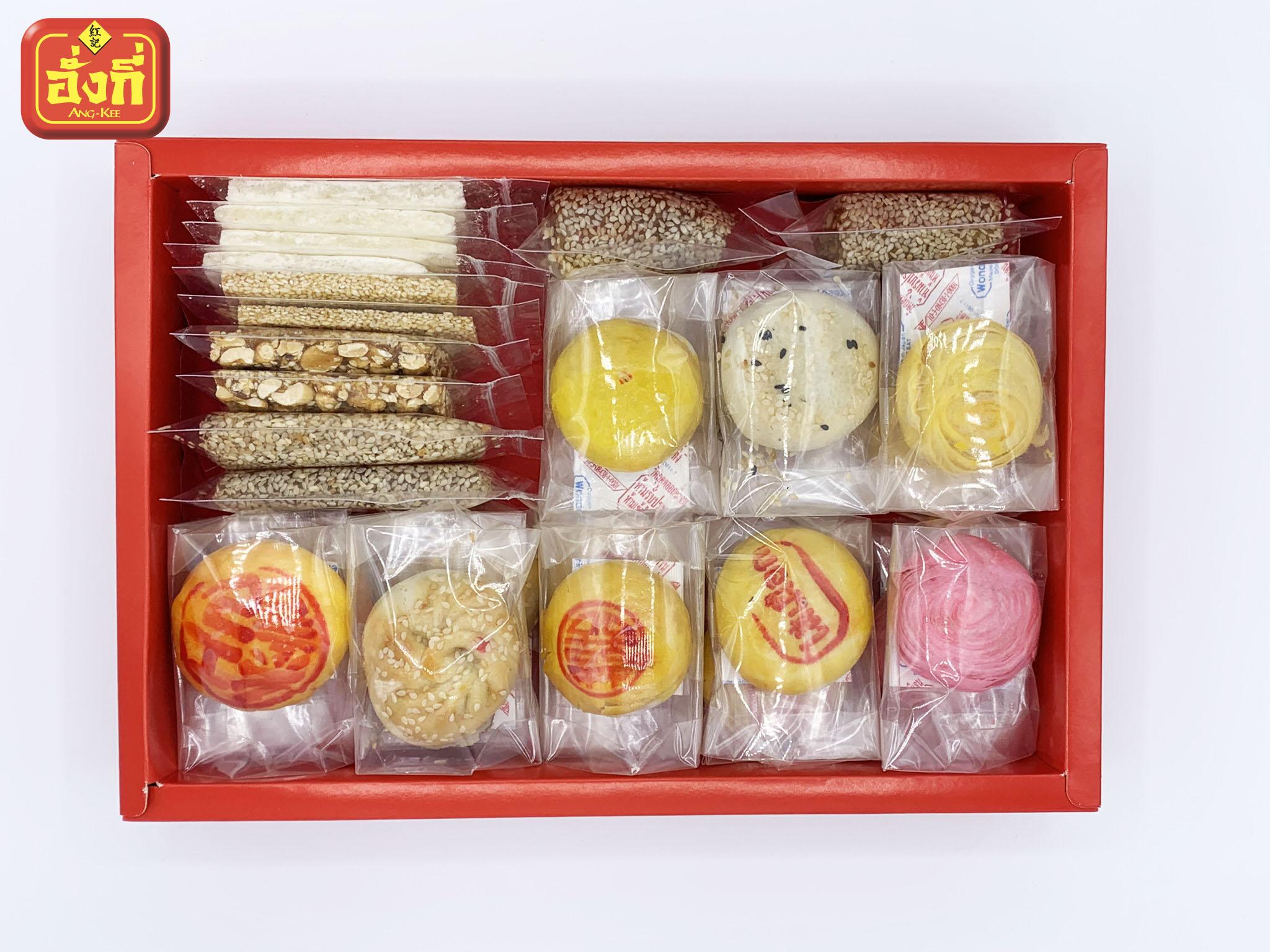 สี่เส็กทึ้ง ขนมในกล่องมีอะไรบ้าง ขนมมงคลใช้ในพิธีงานแต่ง ยกน้ำชา