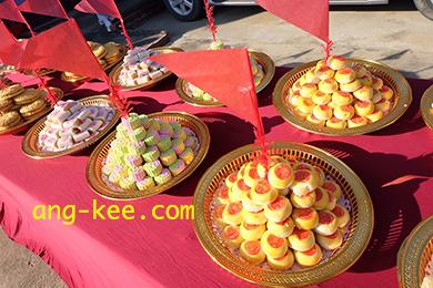 ขนมขันหมากไทย จังหวัดนนทบุรี อยู่ในตลาดบางใหญ่ค่ะ เปิดใหม่แล้ววันนี้ของอั่งกี่