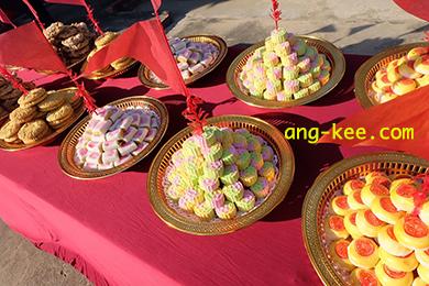 ขันหมากไทย นนทบุรี จรัญสนิทวงศ์ งามวงวาน ของสวยงาม ทานอร่อย