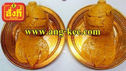 ขันหมากแต่งงานไทย ขนมปลาคู่ มีความหมายเหลือกินเหลือใช้ ใส่ถาดทองสวยงามพร้อมแห่