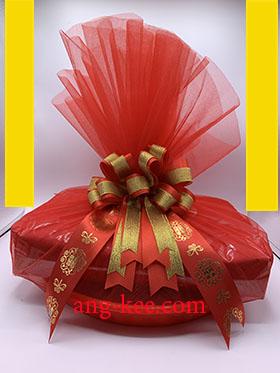 จันอับจับกิ้มเป็นขนมที่ใช้ในพิธีขันหมากจีน ห่อเป็นลักษณะหมอนแดง
