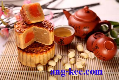 ขนมไหว้พระจันทร์ไส้เม็ดบัว สูตรต้นตำรับ น้ำตาลหวานน้อย เทศกาลขนมไหว้พระจันทร์