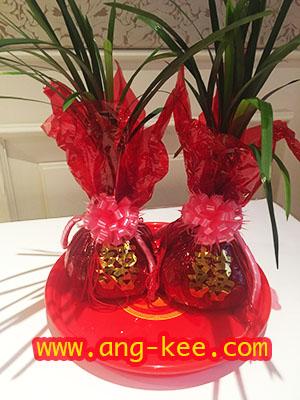 ชุงเช่า ต้นไม้ที่ใช้ในพิธีแต่งงานจีนยกน้ำชางานหมั้น